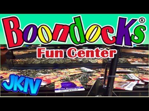 Coin Pusher Arcade Fun at Boondocks Food & Fun Center   Kaysville Utah