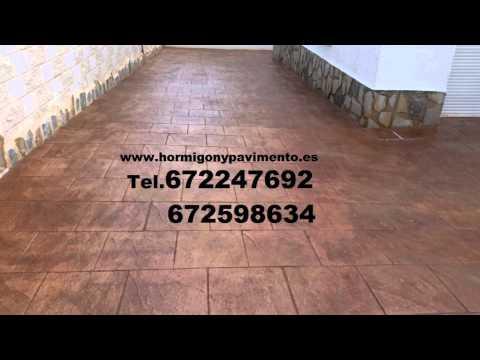 Presupuesto y Precio Hormigon Impreso  Berzosa de Bureba Tel.672247692 Burgos