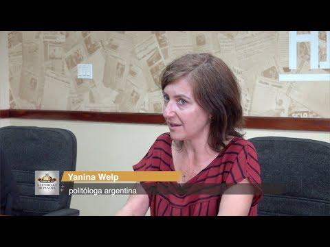 'Los presidentes no deben convocar consultas ciudadanas', Yanina Welp