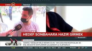 Gaziosmanpaşa Meydanı'nda Aşı Uygulaması 2 - 24 Tv