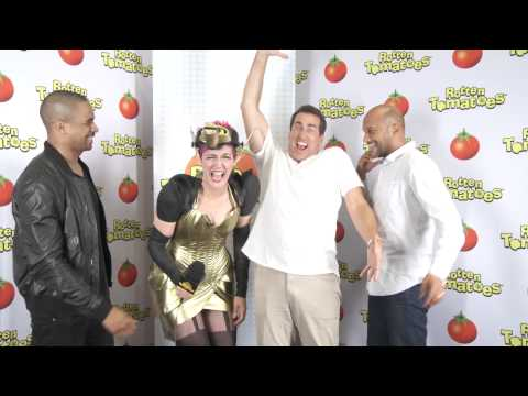 """The cast of """"Lets Be Cops"""" at Comic-Con 2014"""
