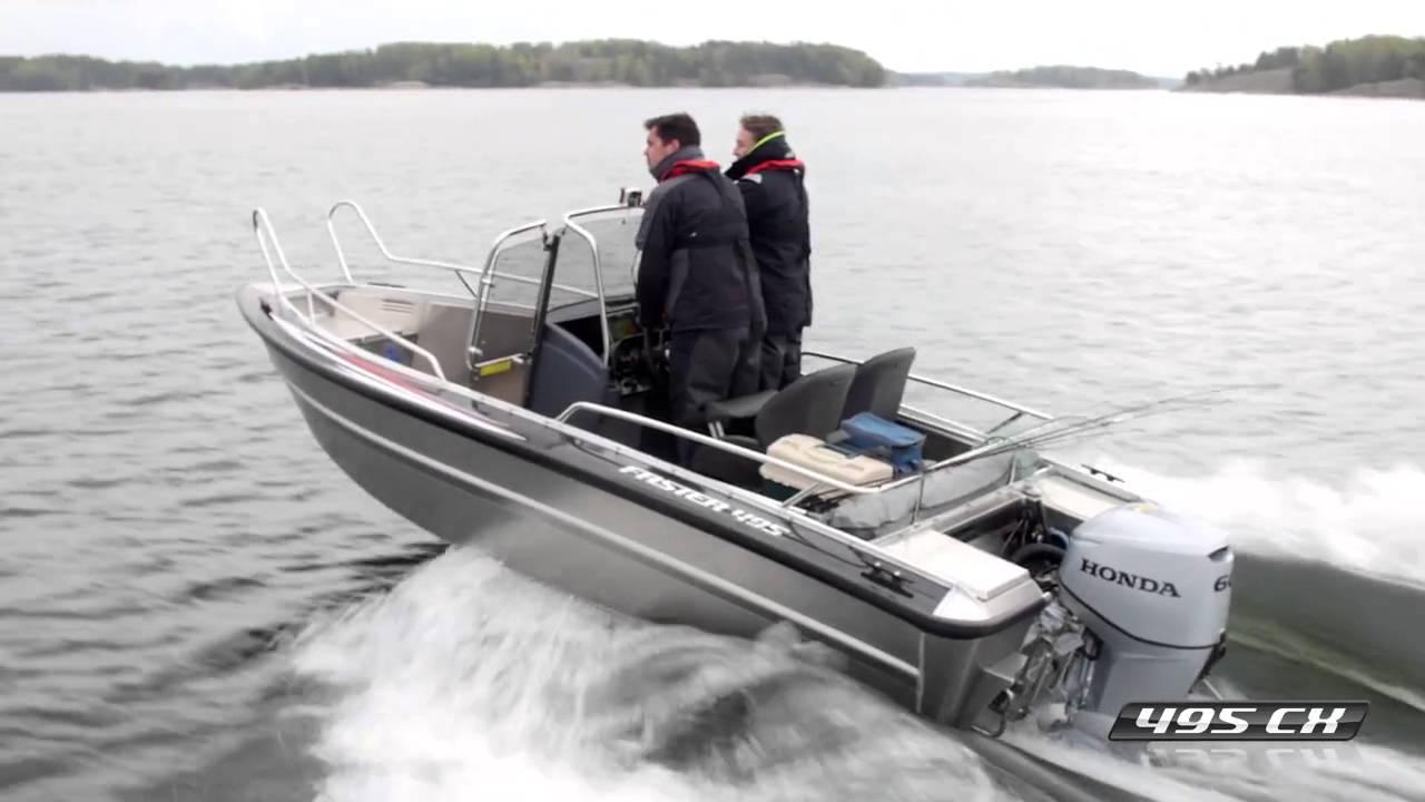 Алюминиевый катер Faster 495 CX для рыбалки | Катер из алюминия