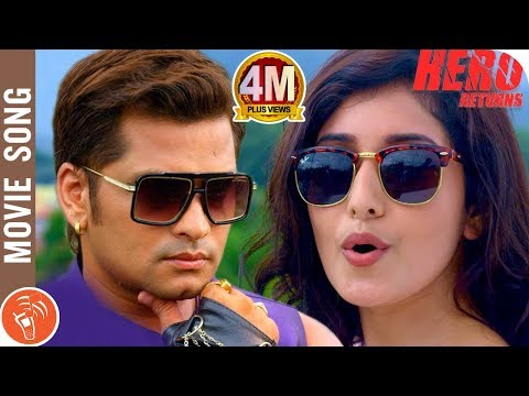 Video HERO RETURNS | New Nepali Movie Title Song 2018/2075 | Sabin Shrestha, Aanchal Sharma download in MP3, 3GP, MP4, WEBM, AVI, FLV January 2017
