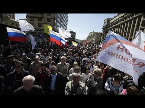 Μόσχα: Πορεία υπέρ των ανθρωπίνων δικαιωμάτων