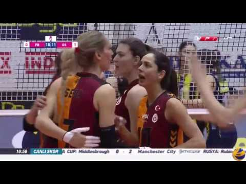 Fenerbahce vs Galatasaray | 11 March 2017 | Turkish Women's Volleyball League 2016/2017