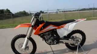 2. $8,399:  2016 KTM 250 SX-F Overview and Review