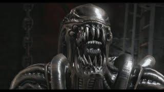 MORTAL KOMBAT X Alien Performs All Character Fatalities Fatality