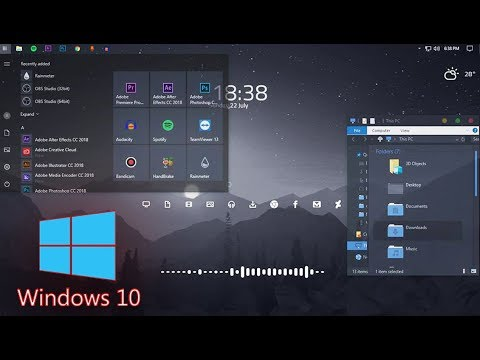 How to Make Windows 10 Look Better, Cool And Awesome 2018