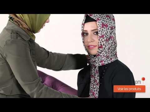 Modanisa.com - Nasıl Şal Bağlanır? - Model 21 -  2014 Şal Bağlama Modelleri - 2014 Hijab Tutorials