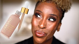 LIQUID POWDER, GIRL? HOW!?! Farsali Review + Demo! by Jackie Aina