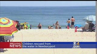 Lifeguards made 48 rescues on one day. WBZ-TV's Chantee Lans reports.