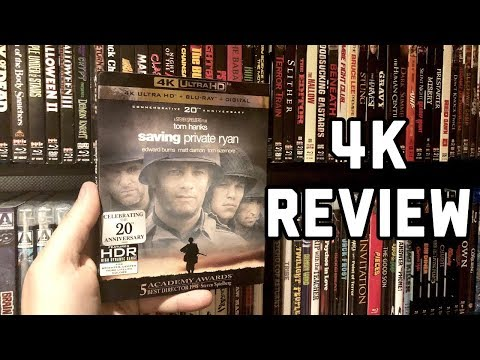 Saving Private Ryan 4K UltraHD Blu-ray Review & GIVEAWAY   20th Anniversary   Dolby Atmos