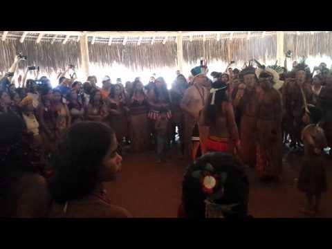 Casamento indígena  Pataxó  em Carmésia