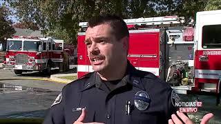 Avioneta cae en una casa de Upland – Noticias 62 - Thumbnail