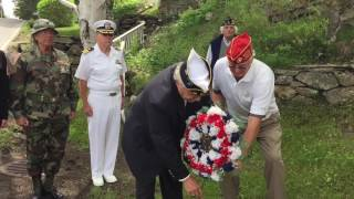 Memorial Day Observance in East Boothbay