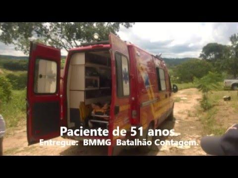 Resgate em �rea Rural de Pedro Leopoldo Iniciado Por Bombeiro Civil Voluntário.