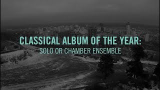 Classical Album Of The Year: Solo Or Chamber Ensemble | 2015 JUNO Award Nominee Press Conference