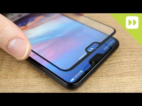 Olixar Huawei P20 Pro Full Cover Glass Screen Protector Installation Guide & Review