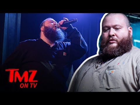 Action Bronson Stops Show Due To Being Blinded By Strobe Light | TMZ TV