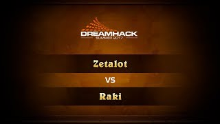 Zetalot vs Raki, game 1