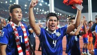 Video FINAL: Thailand vs Malaysia - AFF Suzuki Cup 2014 (1st Leg) MP3, 3GP, MP4, WEBM, AVI, FLV Januari 2018