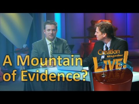 A 'mountain of evidence' for evolution? — Creation Magazine LIVE! (2-18)