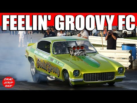 2015 Nostalgia Nationals Funny Car Drag Racing Video