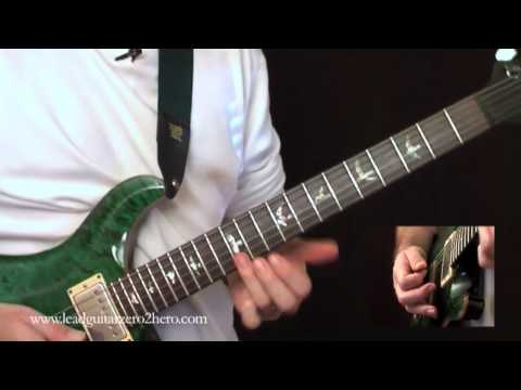 "16 Learn Electric Guitar ""Bending"" – Rock Guitar Lesson"