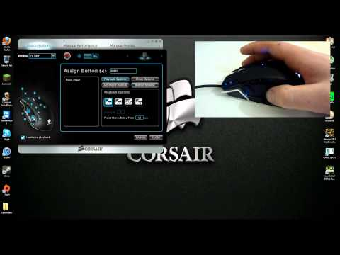 M90 - How-to map the buttons on the fantastic Corsair M90 MMO Mouse Part 1 The Basics! The link for Memory Flash/Firmware tool: forum.corsair.com/v3/showthread.php...