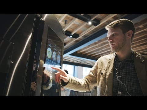 VIDEO: This Samsung fridge with a 21 inch touchscreen is awesome