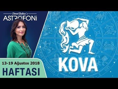 KOVA Burcu 13-19 Ağustos 2018 HAFTALIK Burç Yorumu, Demet Baltacı (видео)