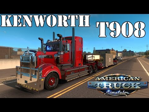 KENWORTH T908 1.24/1.23/1.22