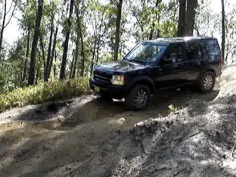 Land Rover LR3 HSE in Wharton State Park - Jemima Mountai  n New Jersey (Sept.  2010) Part 2. (видео)