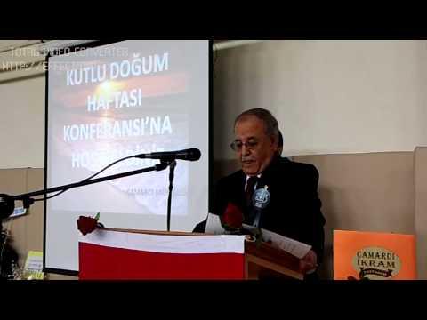 Kutlu Doğum Konferansı Mehmet Zeki DUMAN 1