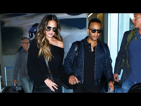 Chrissy Teigen Is Asked About Being A Surrogate For Kim Kardashian