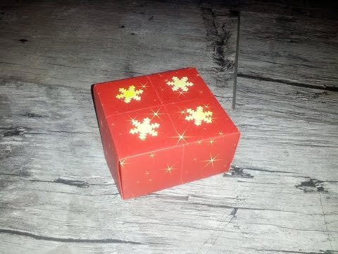Schachtel selber basteln #Origami Tutorial