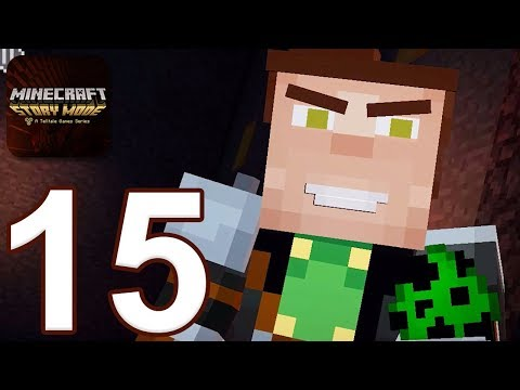 Minecraft: Story Mode - Gameplay Walkthrough Part 15 - Episode 5 ENDING (iOS, Android)