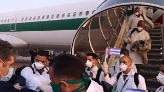 Ekipa 52 pielęgniarek i lekarzy z Kuby z pomocą dla Włoch <3