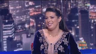 طريف.. مونيا لمكيمل تتقمص دور فتيحة لتحكي لجمهور رشيد شو عن طفولتها..