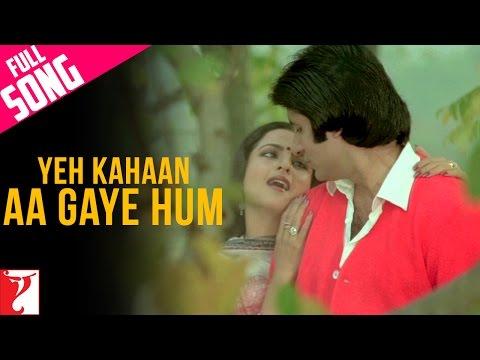 Video Yeh Kahaan Aa Gaye Hum - Full Song | Silsila | Amitabh Bachchan | Rekha download in MP3, 3GP, MP4, WEBM, AVI, FLV January 2017