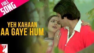 Yeh Kahaan Aa Gaye Hum - Full Song | Silsila | Amitabh Bachchan | Rekha | Lata Mangeshkar