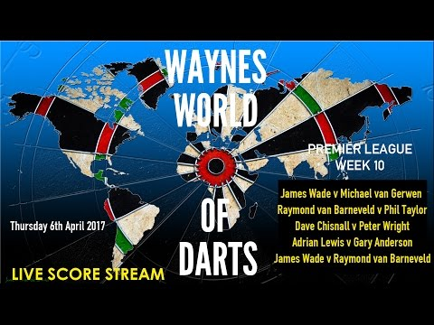Premier League of Darts - Week 10 Live Score stream