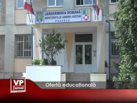 Ofertă educaţională