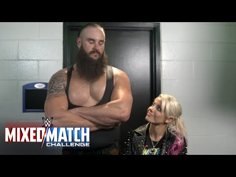 Strowman and Bliss aim to be heads and shoulders above the rest in WWE Mixed Match Challenge