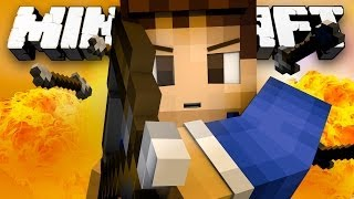 I AM KATNISS! (Minecraft: Hunger Games with Woofless and Lachlan!)