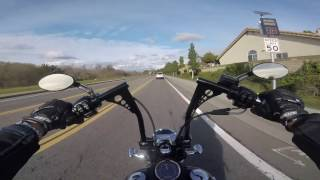 10. 2016 Harley Street Bob - Freeway Ride
