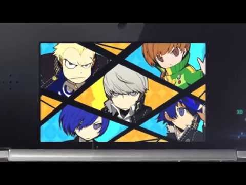 Persona Q Shadows of the Labyrinth (3DS)