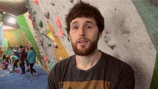 Jimmy Webb on the CWIF by OnBouldering