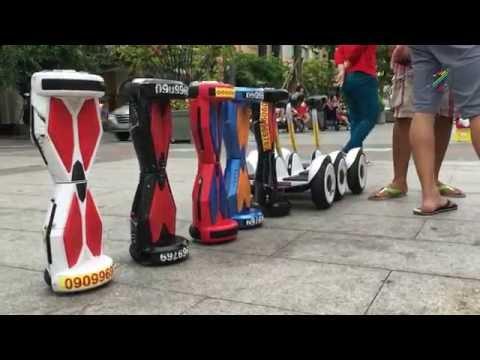 Dạo chơi bằng xe điện tự cân bằng