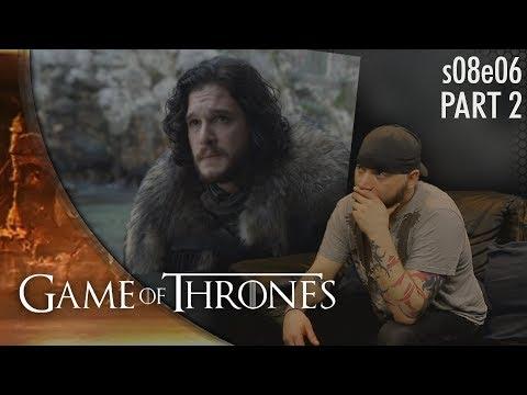 "Game of Thrones: 8x6 p2 ""The Iron Throne"" REACTION"